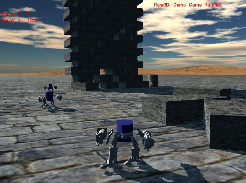 BlitzCoder.org - Flow3D Robot Tank Game Demo